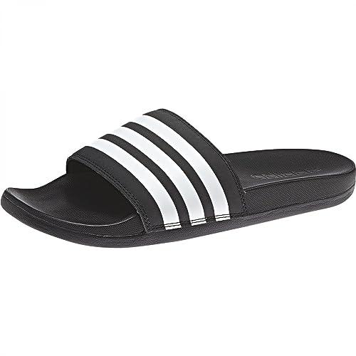 adidas Damen Adilette Cloudfoam Plus Stripes Aqua Schuhe