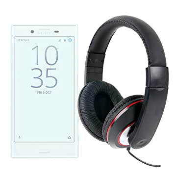 DURAGADGET Auriculares De Diadema para Smartphone Sony Xperia X ...