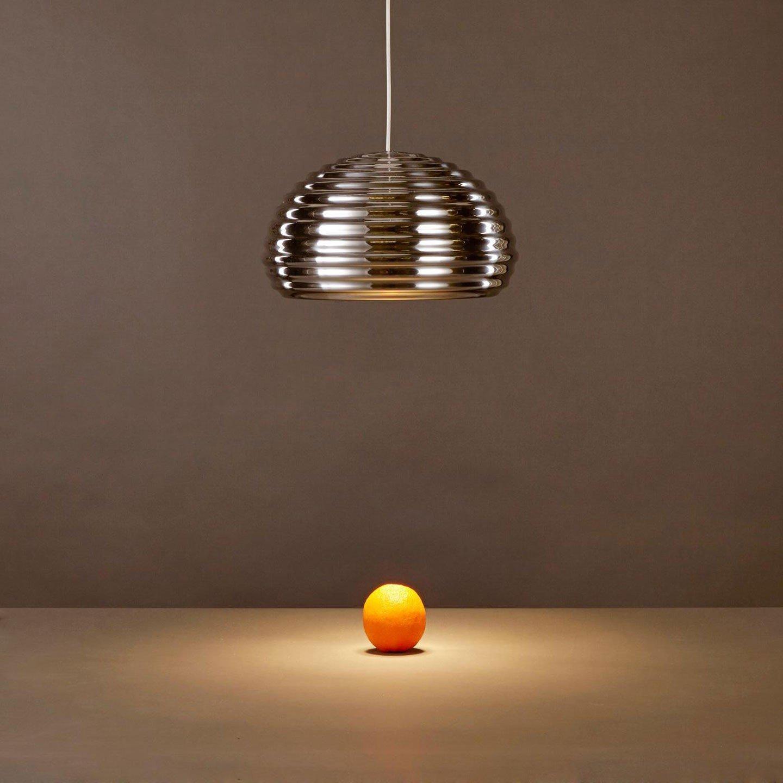 14'' Aluminum Splugen brau pendant Lamp Silver Chrome Inspired By Castiglioni Dinning Room ,Bar ,Resto