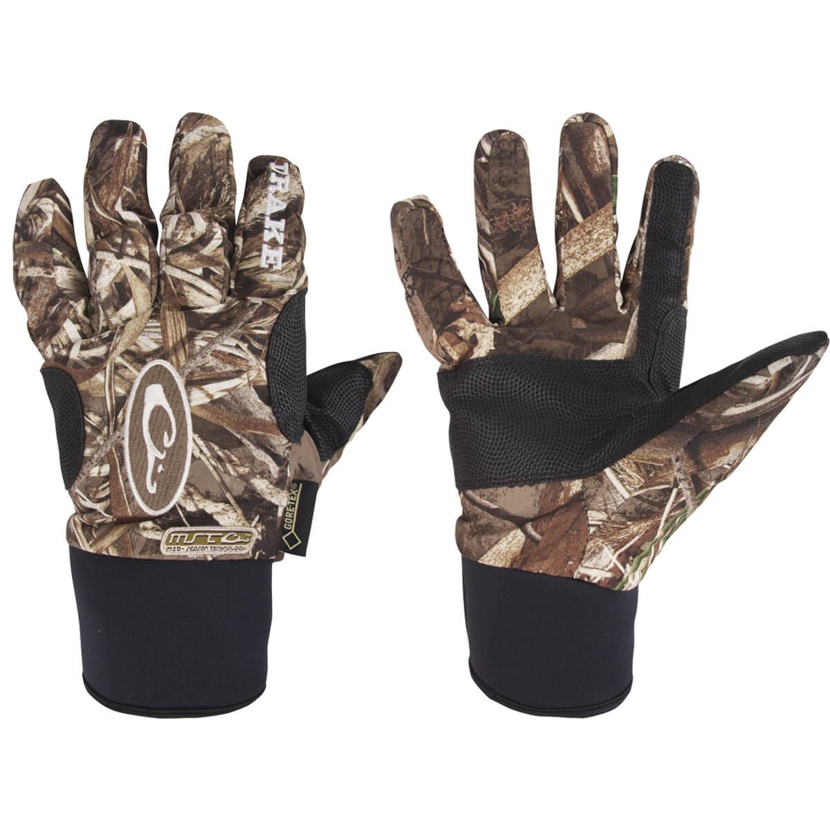 Drake Waterfowl Men's MST Refuge Hs Gore-Tex Glove Realtree Max 5 (L) by Drake