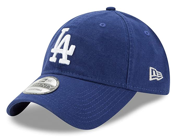 29c1a1254f04ff Amazon.com : New Era Los Angeles Dodgers MLB 9Twenty Primary Core Classic  Adjustable Hat : Clothing