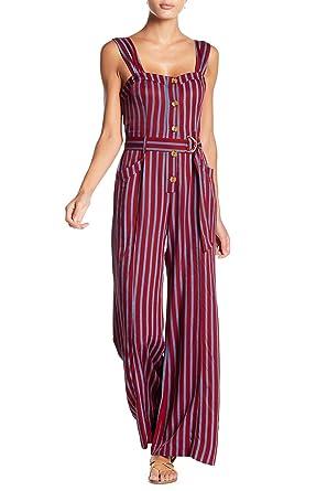 5df327264da7 Amazon.com  Free People Women s Striped Wide-Leg Sleeveless City ...
