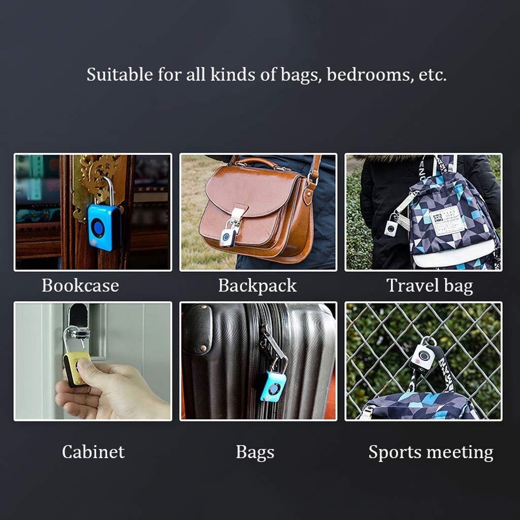 RMXMY Travel Locks Combination Luggage Locks or Password Lock Perfect Luggage Suitcase Baggage Locks are Great Travel Security Combination Padlocks for Baggage, Suitcases & Backpacks (Color : B) by RMXMY (Image #6)