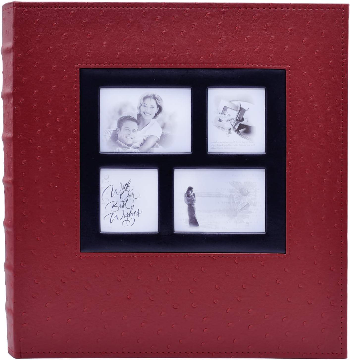 """Cámara Ringbinder Grande Álbum De Fotos Recuerdos Diseño sostiene 500 6/""""x4/"""" fotos jakr"""