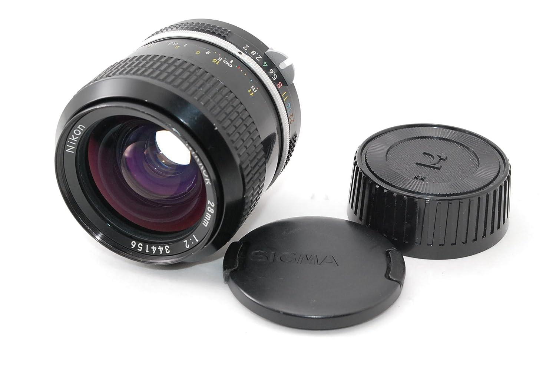 Nikon ニコン NIKKOR 28mm F2   B01M7RMHKH