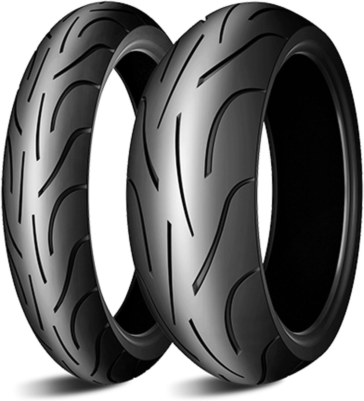 Michelin Pilot Power 180 55 Zr17 73w 120 70 Zr17 58w Motorradreifen Satz Set Paar Reifen Auto