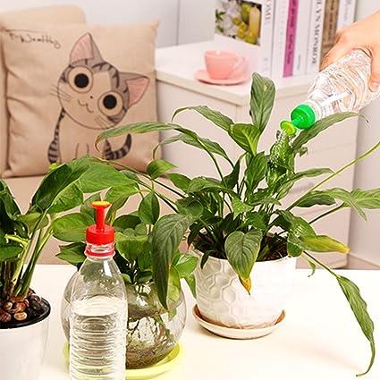 botella tapa waterers flor riego peque o boquilla port til hogar encapsulamiento planta punto