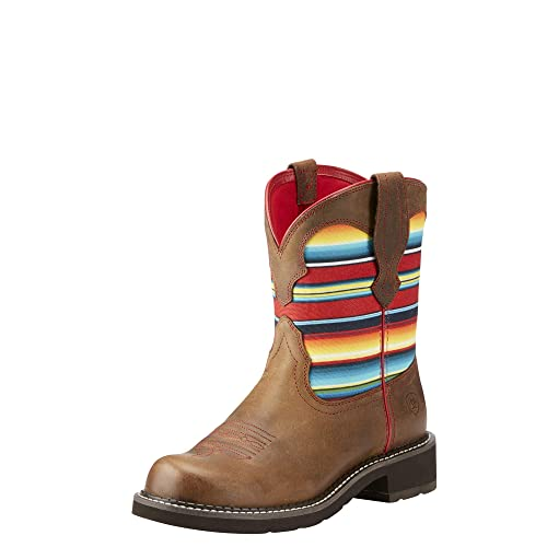 7f8eed196ab ARIAT Women's Fatbaby Heritage Twill Western Boot