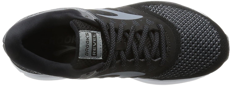 Brooks Womens Revel B01N8XPCE6 10.5 B(M) US Black/Anthracite/Primer Grey