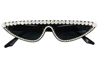 Amazon.com: FLAWLESS Gafas de sol para mujer, diseño de gato ...