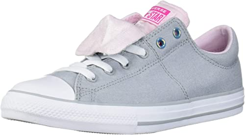 Converse Kids' Chuck Taylor All Star Maddie Double Tongue Slip on Low Top Sneaker