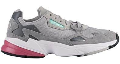 Amazon.com | adidas Women's Originals Falcon Shoes Grey ...