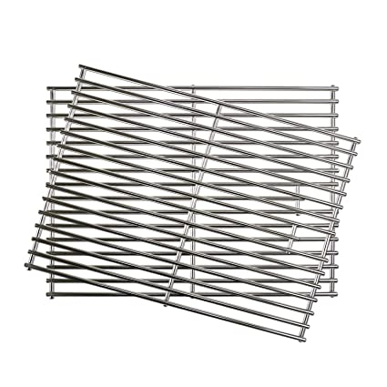 Amazoncom Uniflasy Stainless Steel Grill Cooking Grid Grates