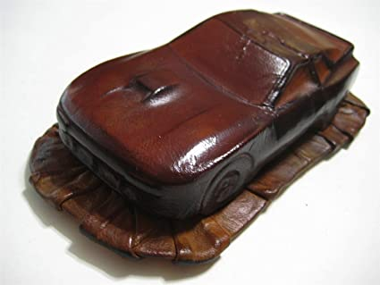 Cuir Marine (France) Red-Brown Porsche 944 Turbo Leather 1:24