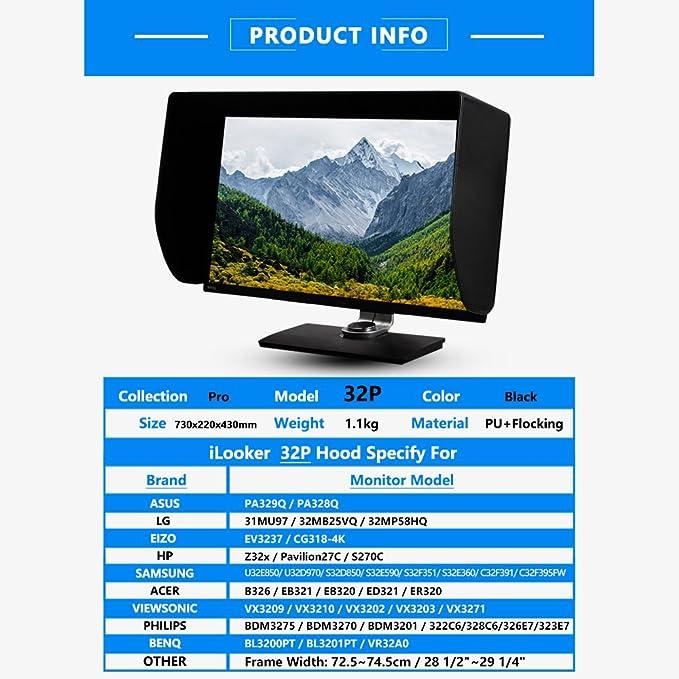 Ilooker 32p 32 Zentimeter Lcd Led Video Monitor Hood Computer Zubehör