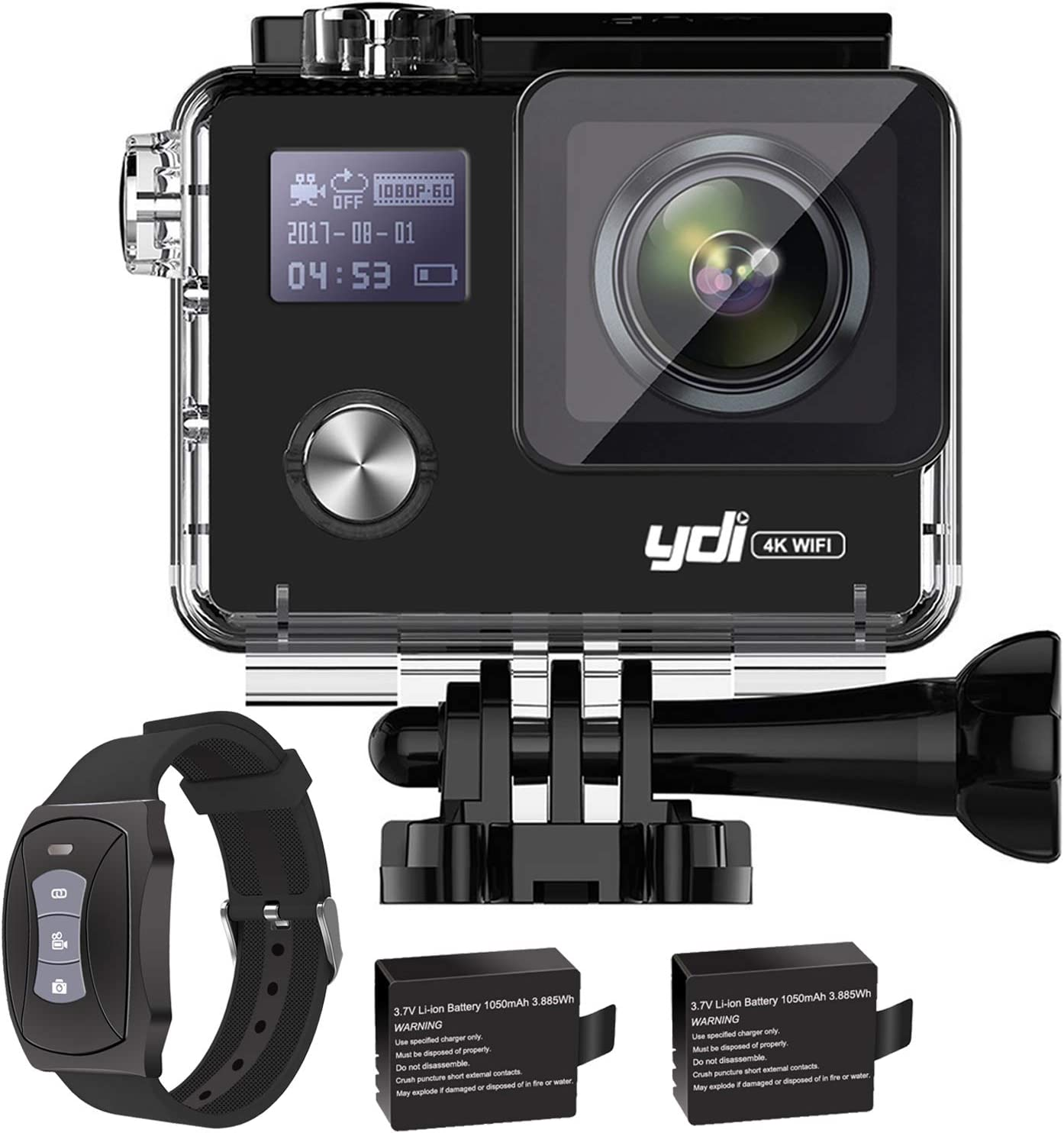 Ydi G80 Action Cam 4k Wifi Underwater Camera Gyro Elektronik