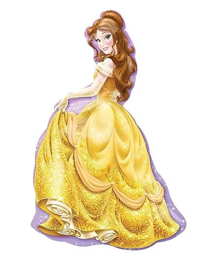 Amazoncom Disney Princess Belle 39 Inch Mylar Foil Balloon