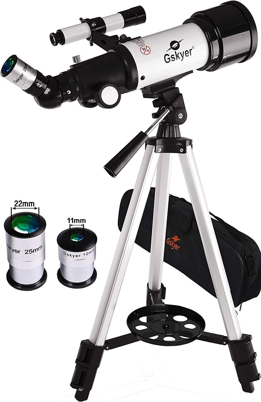 Travel Refractor Renewed Gskyer Telescope AZ70400 German Technology Astronomy Telescope
