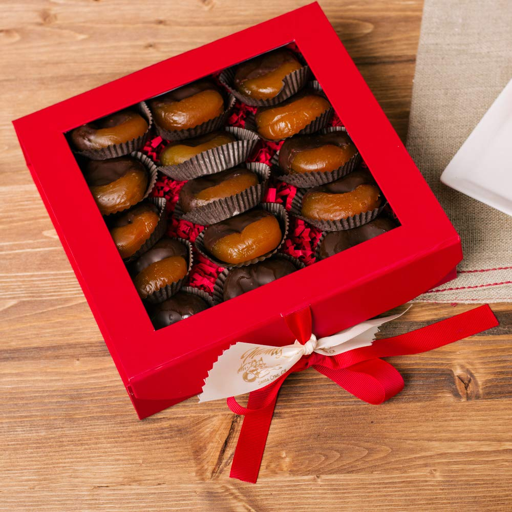 Marini's Candies Chocolate Dipped Glazed Apricots