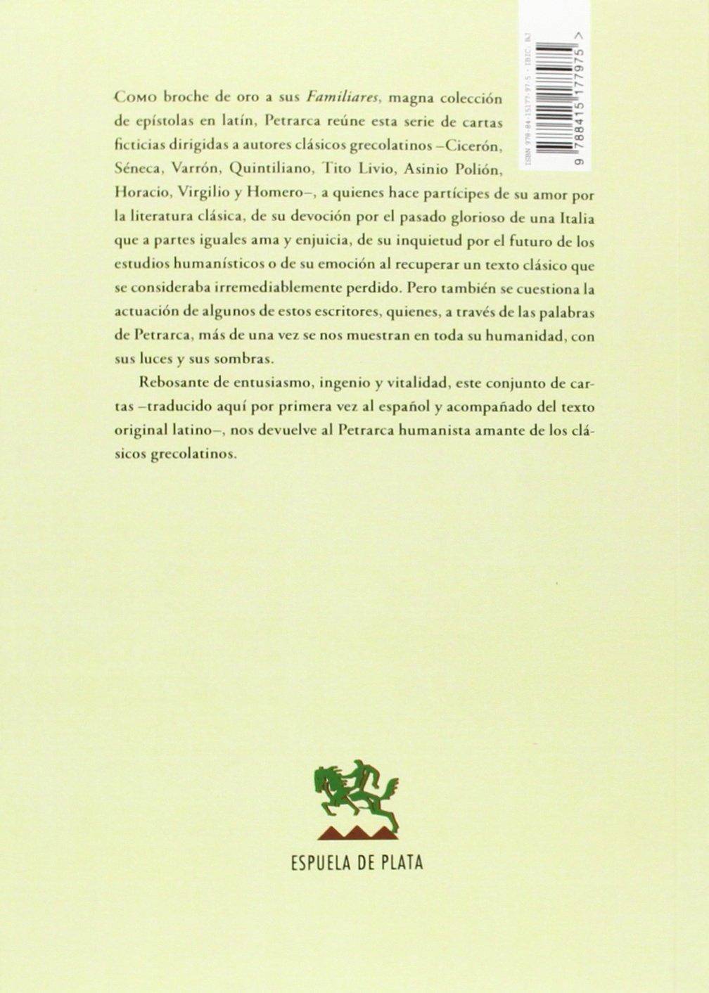 Cartas. A Los Más Ilustres Varones De La Antigüedad Otros ...