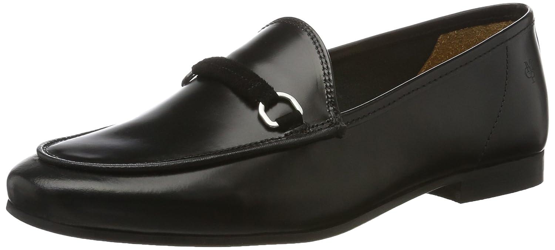 Marc O'Polo Damen 70113873201102 Loafer Slipper Slipper Loafer Schwarz (schwarz) 557235