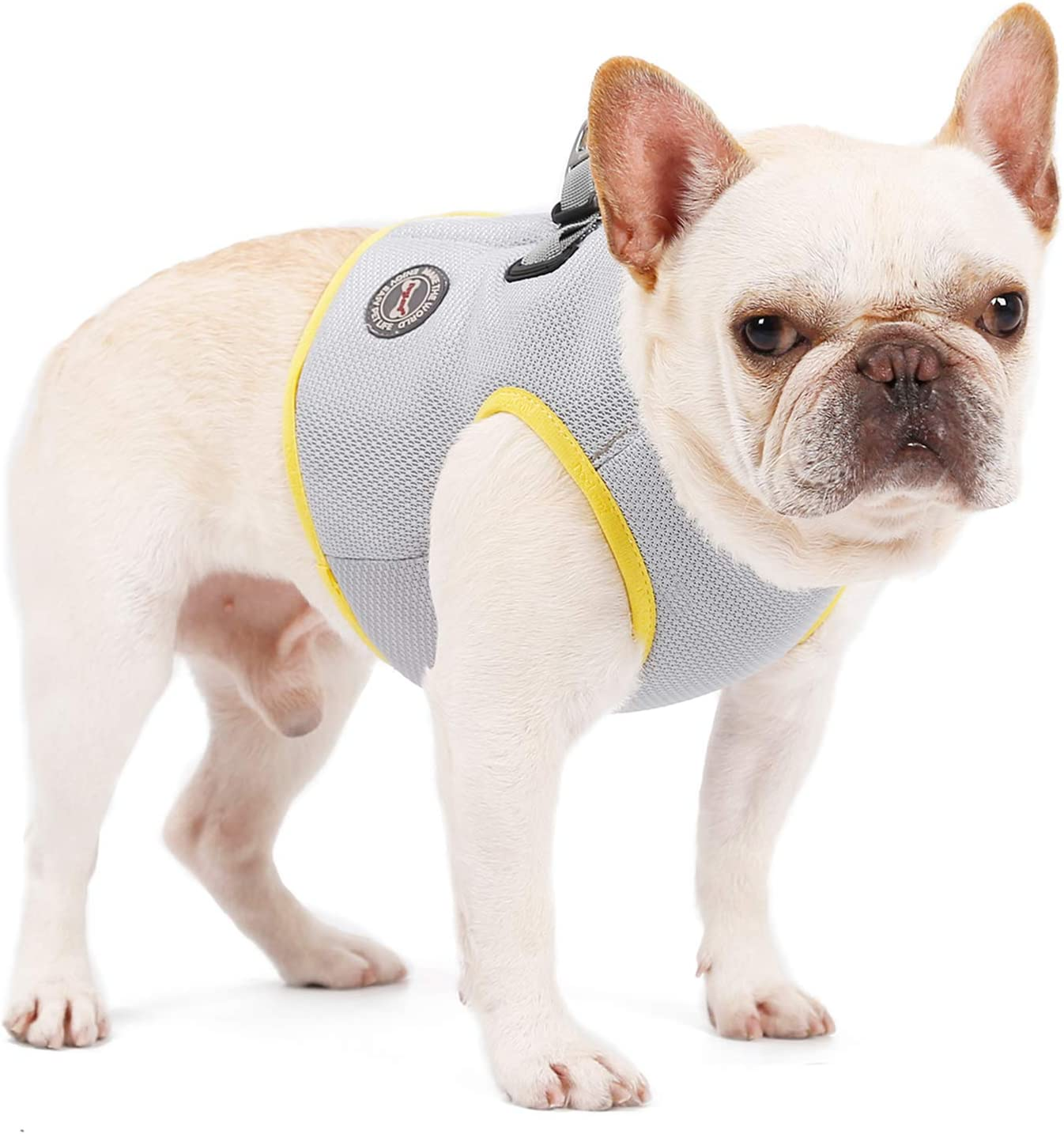CONTACTS Cooling Vest Harness for Dogs, Breathable Dog Cooling Coat for Outdoor Adventure Training Walking