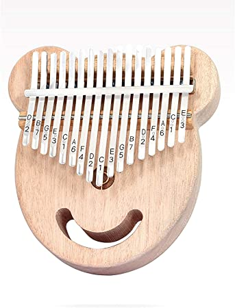 1 Pc Pulgar Piano Kalimba 17 Teclas Educación Instrumento ...