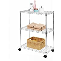 Callas 3- Tier Kitchen Rack with Wheels