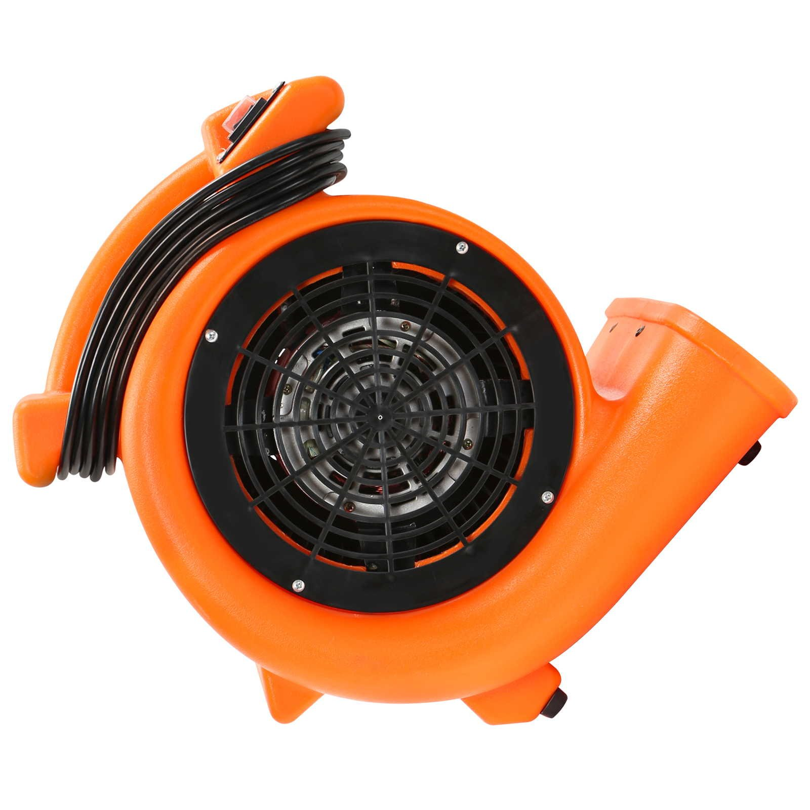 CFM Pro Air Mover Carpet Floor Dryer 2 Speed 1/2 HP Blower Fan - Orange - Industrial Water Flood Damage Restoration by CFM Pro (Image #3)