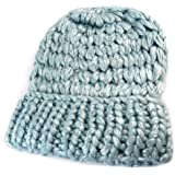 """Lollipops [N7365] - Bonnet maille """"Lollipops"""" bleu clair"""