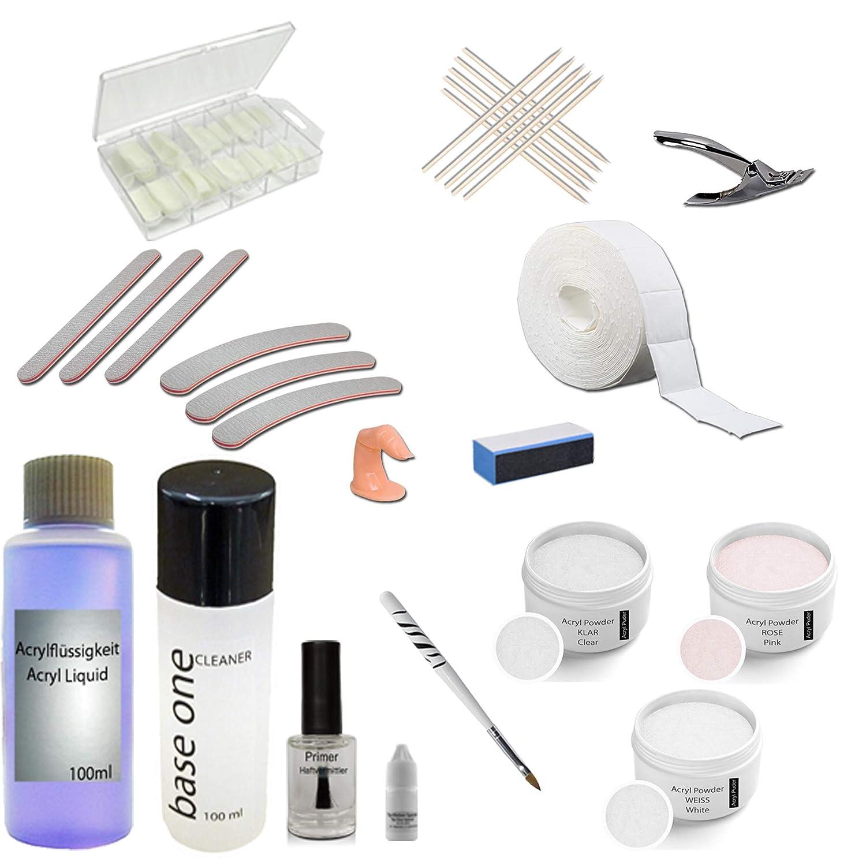 Nail Acryl Set Profi Starterset Acryl Amazon.de Beauty