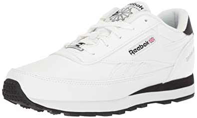 9b2eab0b48b Reebok Men s Classic Renaissance Cross Trainer White Black Silver 3.5 ...