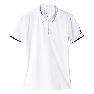 adidas UNCTL CLMCHPolo - Polo para Mujer, Color Blanco/Negro ...