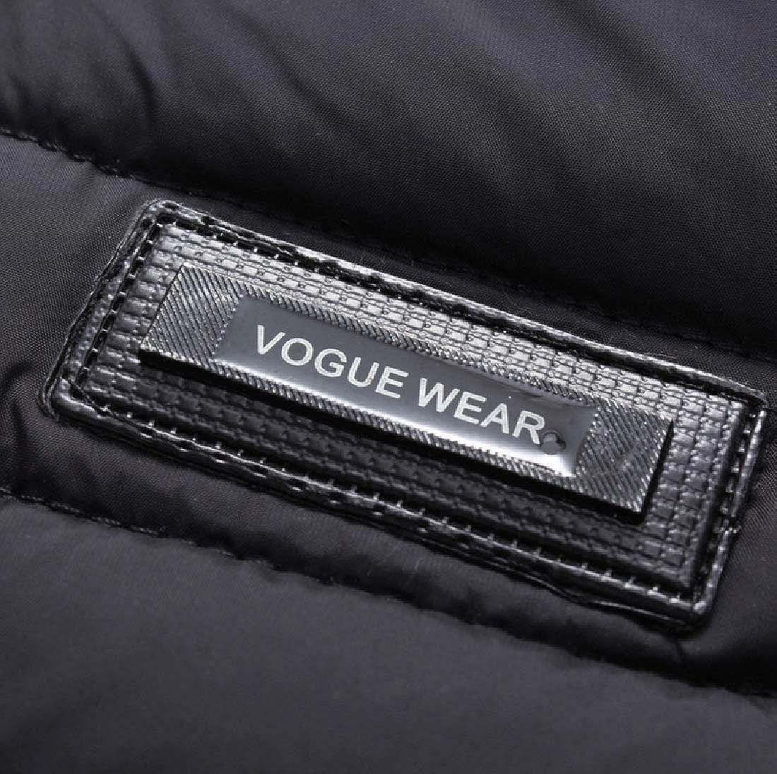 YUNY Men Waistcoat Packable Cozy Leisure Windproof Vest Coats Jacket