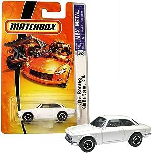 Matchbox 2008 MBX Metal Alfa Romeo Giulia Sprint GTA White #32