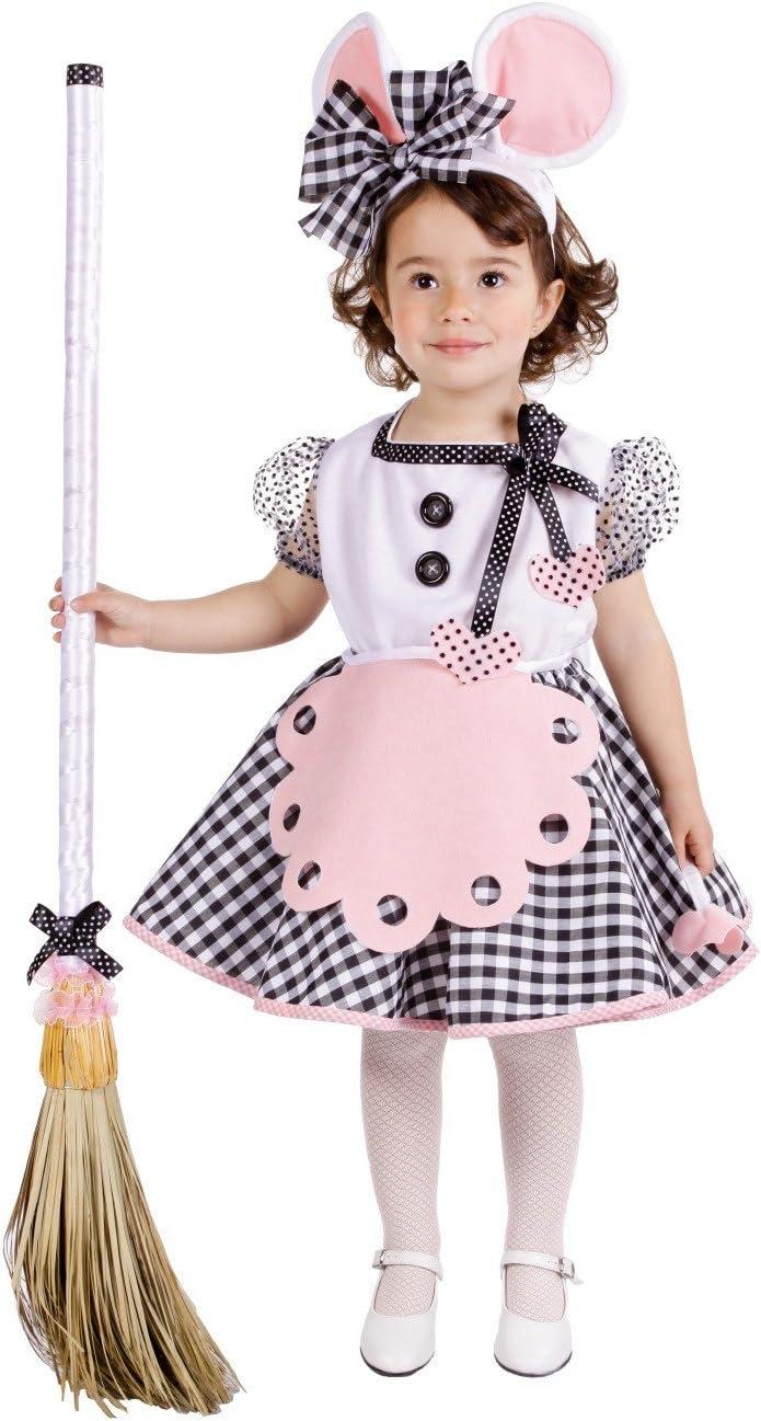 Disfraz de ratita presumida para niña - 3-5 años: Amazon.es ...