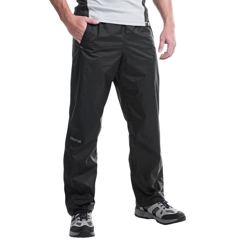 Marmot Precip - Long Pantalones De Lluvia, Hombre, Negro (Black 001), L 41240L-001-5
