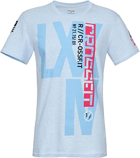 Crossfit Hombre Función Camiseta, azul claro: Amazon.es: Deportes y aire libre