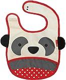 Skip Hop Zoo Little Kid and Toddler Tuck-Away Water Resistant Baby Bib, Multi Pia Panda