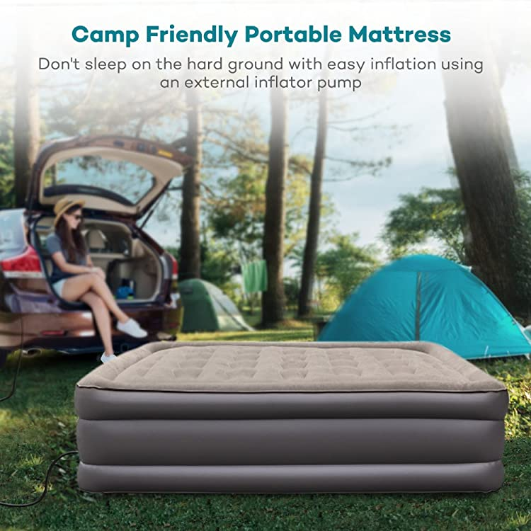 Air Mattress with Built-in Electric Pump