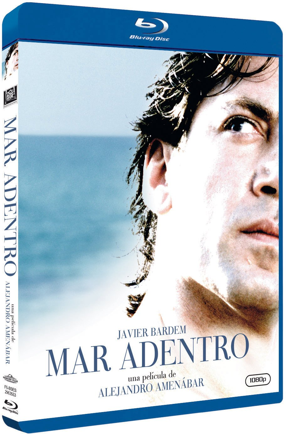 The Sea Inside ( Mar adentro ) ( The Sea Within ) [ NON-USA FORMAT, Blu-Ray, Reg.B Import - Spain ]