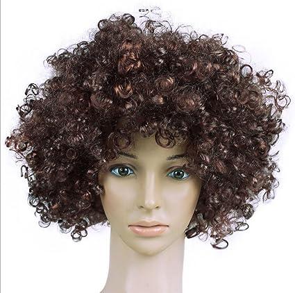 Nikgic 1pc Peluca de cabeza explosiva creativa personalizada Pelucas de carnaval San Fermín pelucas niños adultos