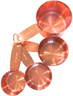 Amazon.com: Copper Measuring Spoons For Your Rustic & Farmhouse ...