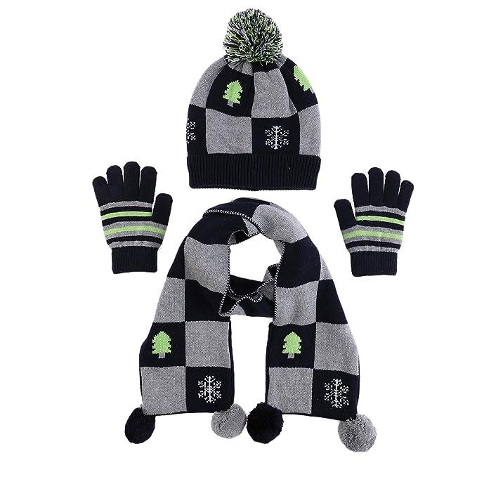 Amazon.com: Gorro de algodón 100% con guantes para bebé ...
