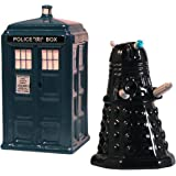 Doctor Who Tardis V. Dalek Salt And Pepper Shakers