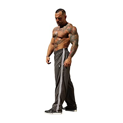 5a3a2f3dcc26a3 Physique Bodyware Mens Racer Stripe Karate Workout Pants. Made In America.