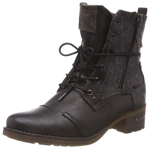Mustang Schnür-Stiefelette, Botines para Mujer: Amazon.es: Zapatos y complementos