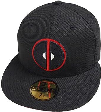 promo code 08f70 0805b ... new style new era deadpool black diamond era cap marvel dc 59fifty 5950  fitted basecap kappe