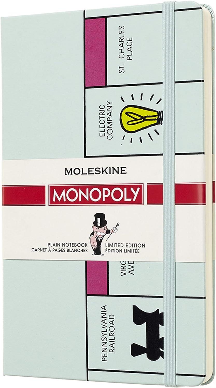 Moleskine LEMOQP062 - Libreta de edición limitada Monopoly, grande lisa tablero (EDITION LIMITEE): AA.VV.: Amazon.es: Oficina y papelería