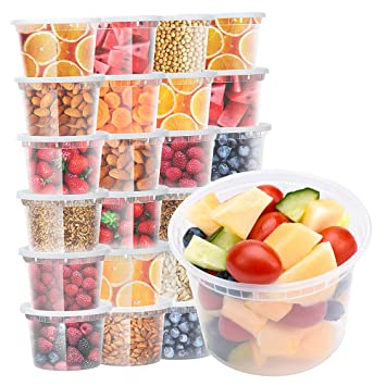 Review Glotoch Deli Containers with